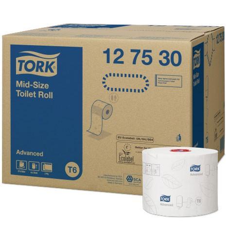 Tork Mid-Size Toilet Roll 10 cm / 100 m wit - 27 stuks