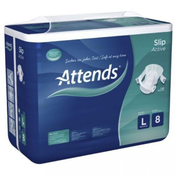 Attends Slip Active Large/8 (4x28st)