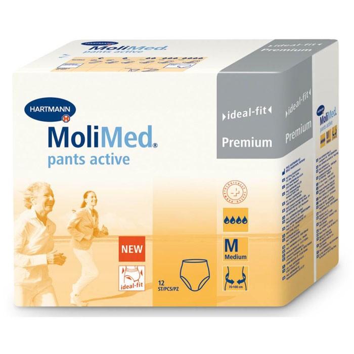MoliMed Pants Active - Medium - 4 x 12 stuks