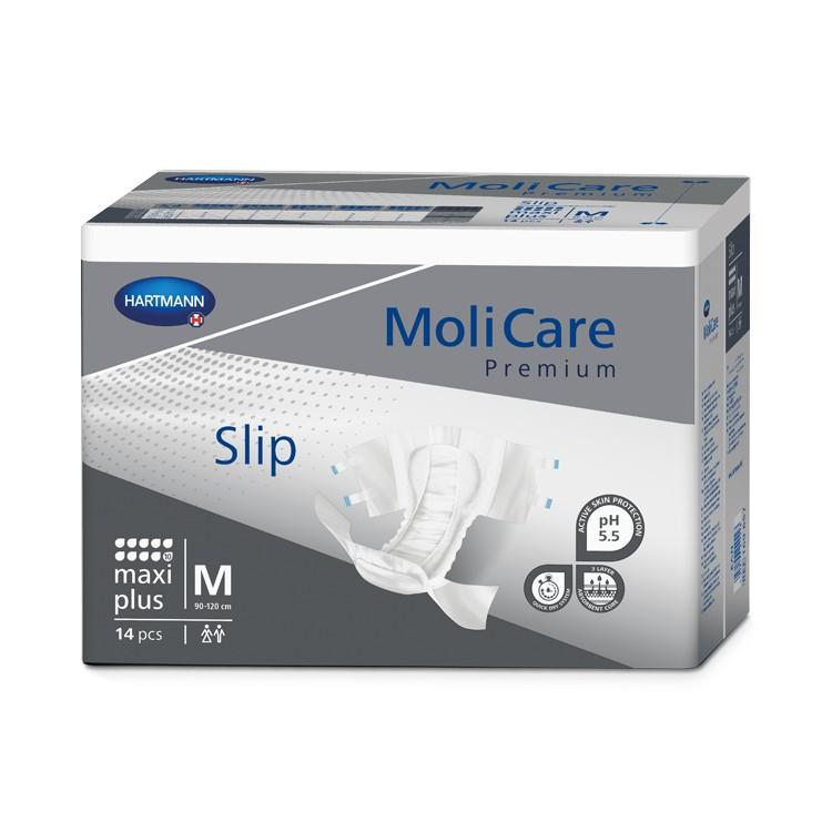 MoliCare Premium Slip Maxi Plus - Medium - 4 x 14 stuks