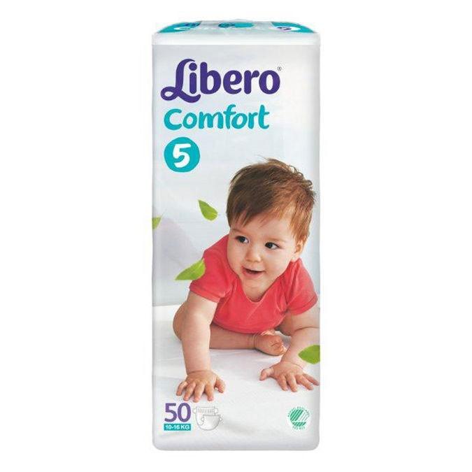 Libero comfort 5 Maxi plus 10-14kg - 4 x 50st