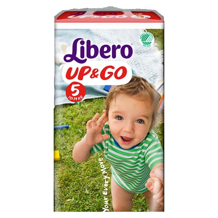 Libero Optrekbroekjes Up & Go 5 (10-14 kg) - KARTON van 4 x 22 stuks