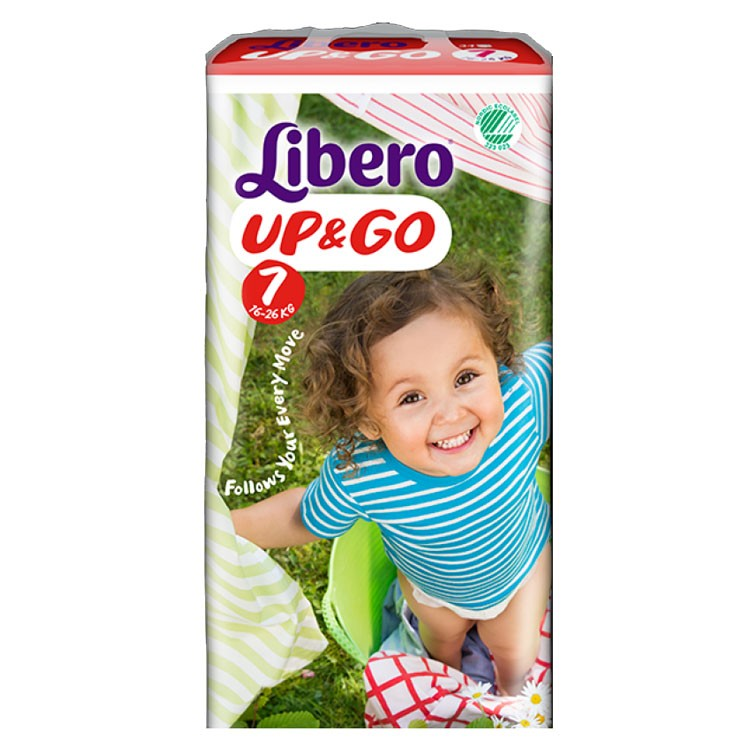 Libero Optrekbroekjes Up & Go 7 (16 - 26 kg) - KARTON van 4 x 18 stuks