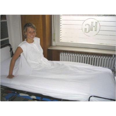 Trippelhoeslaken bed 90cm breedte