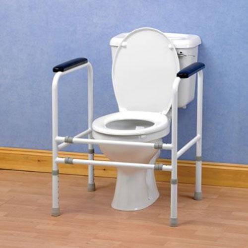 Toiletkader universeel & in de hoogte en de breedte verstelbaar