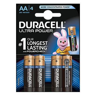 Duracell ULTRA - AA - MX1500 - op blister - 4 stuks