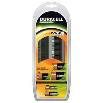 Duracell MultiCharger(AA,AAA,C,D,&9V) CEF2200 (3 uur)