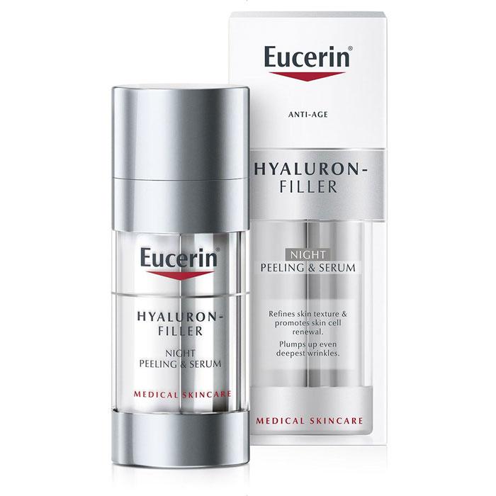 Eucerin Hyaluron-Filler Peeling & Serum Nacht - 30 ml - NIEUW