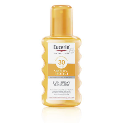 Eucerin Sun Spray Transparent Sensitive Protect SPF 30 - 200ml