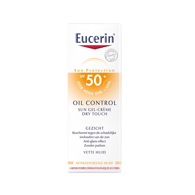 Eucerin Sun Gel-Creme Oil Control Dry Touch SPF 50 - 50ml