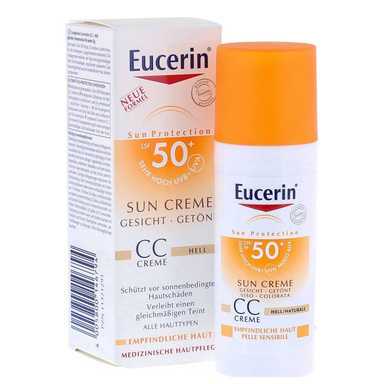Eucerin Sun Photoaging Control CC Crème Getint SPF 50+ Medium - 50 ml