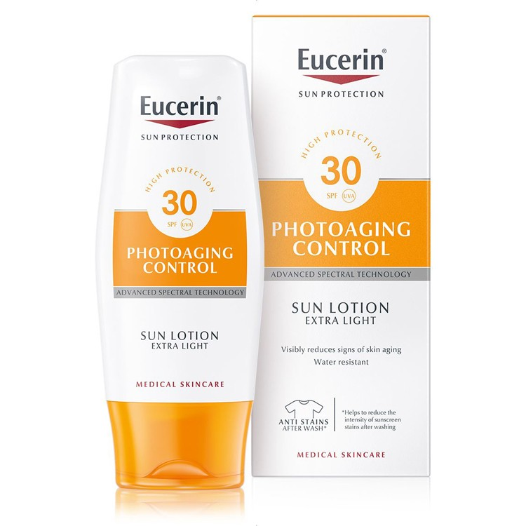 Eucerin Sun Lotion Extra Light Photoaging Control SPF 30 - 150ml