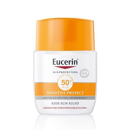 Eucerin Kids Sun Fluid Sensitive Protect SPF 50+ (pocket) - 50ml