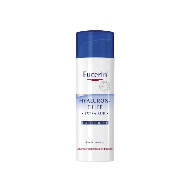 Eucerin Hyaluron-Filler Extra Rijk Antirimpel Nachtcrème 50ml