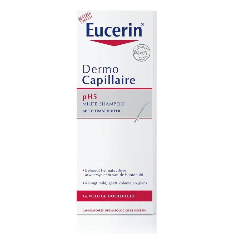 Eucerin milde shampoo met pH5 voor de gevoelige hoofdhuid 250ml