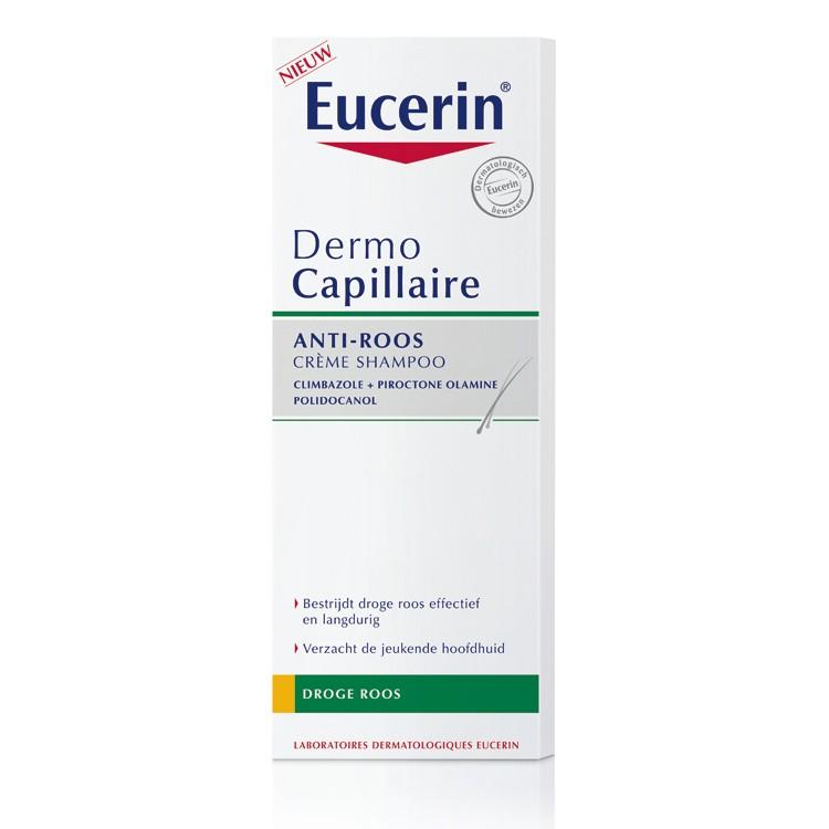 Eucerin anti-roos crème shampoo - droge roos - 250 ml