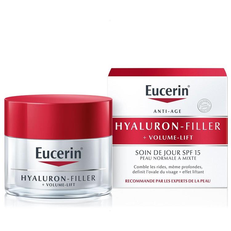 Eucerin Hyaluron-Filler + VOLUME-LIFT Dagcrème voor de normale tot gemengde huid - 50ml