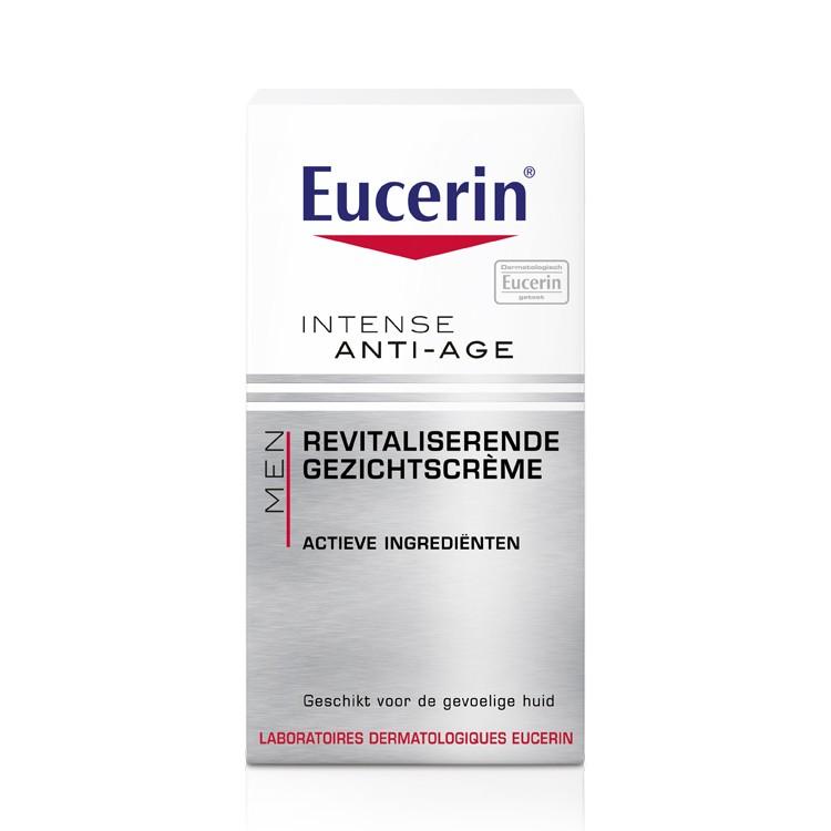 Eucerin MEN Intense Anti-Age Revitaliserende Gezichtscrème - 50ml