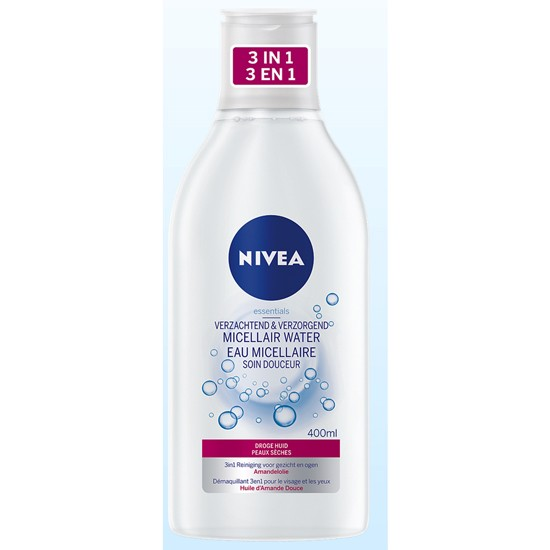 Nivea Micellair water - droge huid - 400 ml
