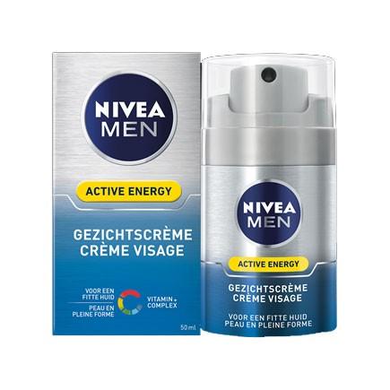 Nivea for men ACTIVE ENERGY GEZICHTSCRÈME