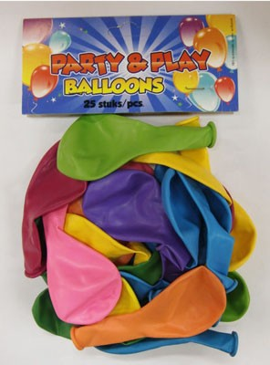Ballonnen 25 st