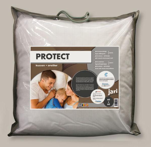 Aegis hoofdkussen 60x60cm - anti-allergisch
