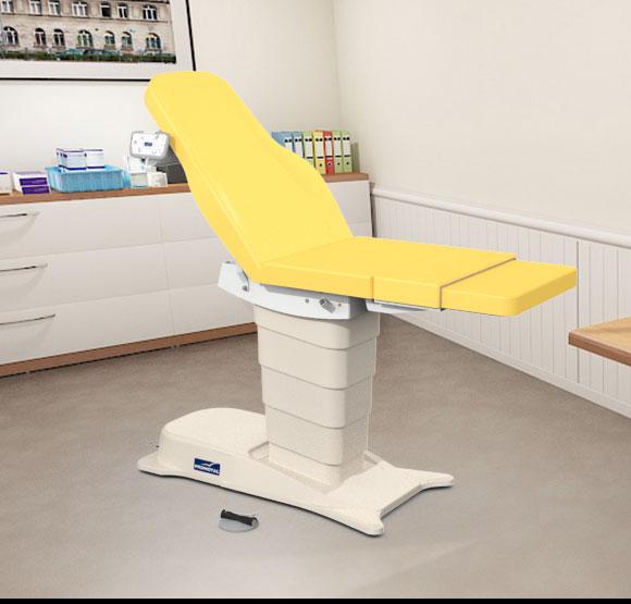 EMotio® PLUS onderzoekstafel - kleur 34 geel