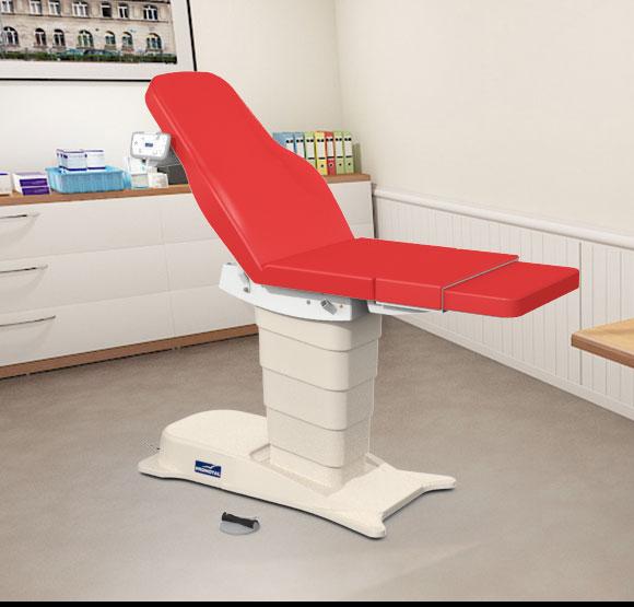 EMotio® PLUS onderzoekstafel - kleur 35 rood