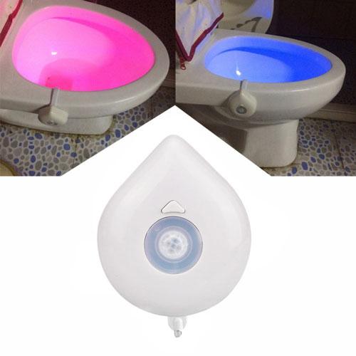Magic Ledlamp Toilet - 8 kleuren