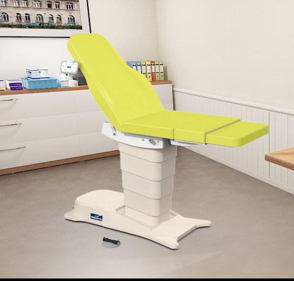 EMotio® PLUS onderzoekstafel - kleur 63 cedrat