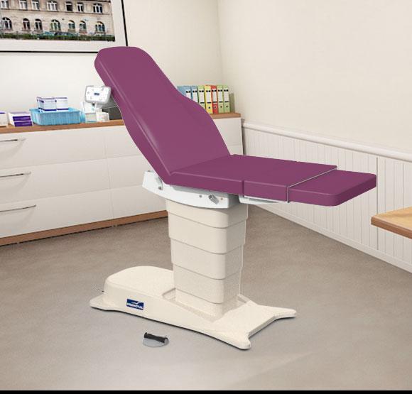 EMotio® PLUS onderzoekstafel - kleur 64 grape