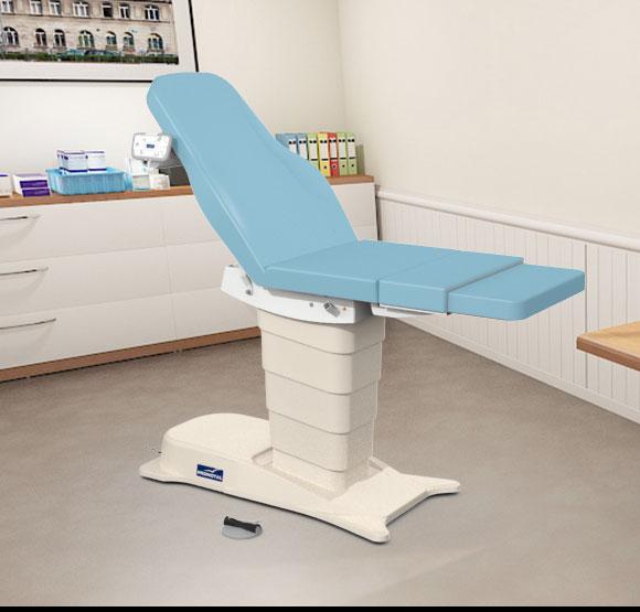 EMotio® PLUS onderzoekstafel - kleur 80 sky