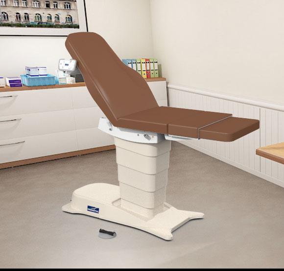 EMotio® PLUS onderzoekstafel - kleur 84 chocolat