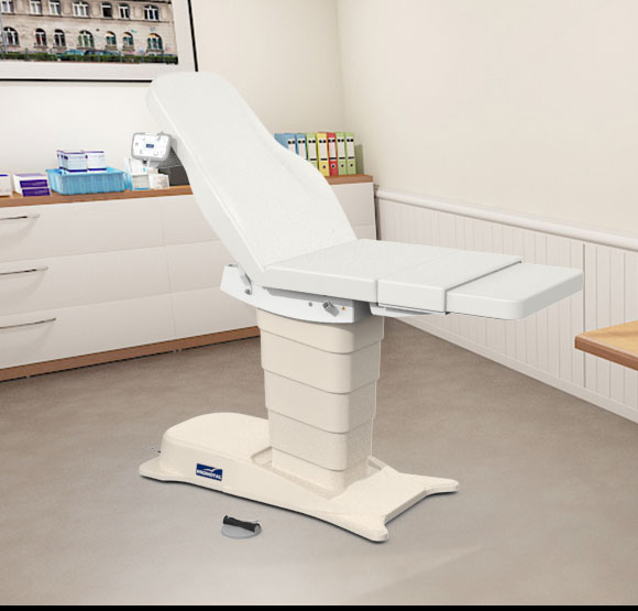 EMotio® PLUS onderzoekstafel - kleur 91 wit