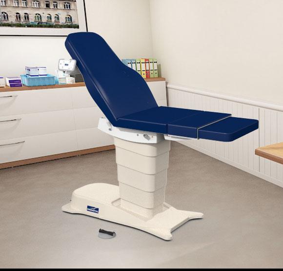 EMotio® PLUS onderzoekstafel - kleur 92 marineblauw