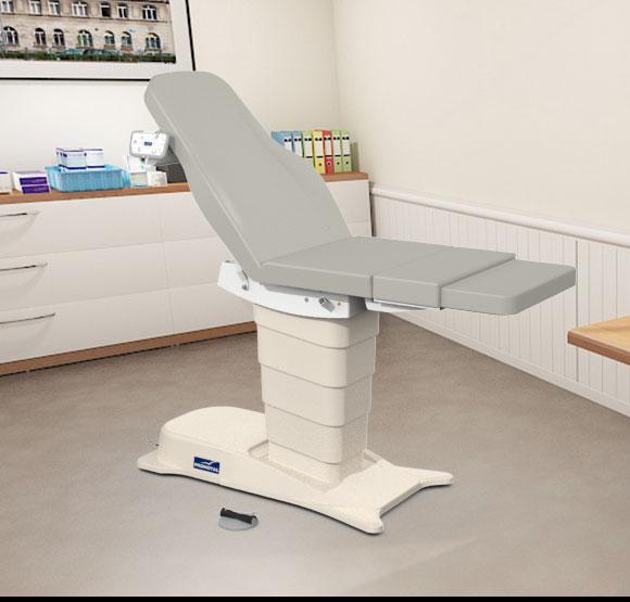 EMotio® PLUS onderzoekstafel - kleur 96 tin
