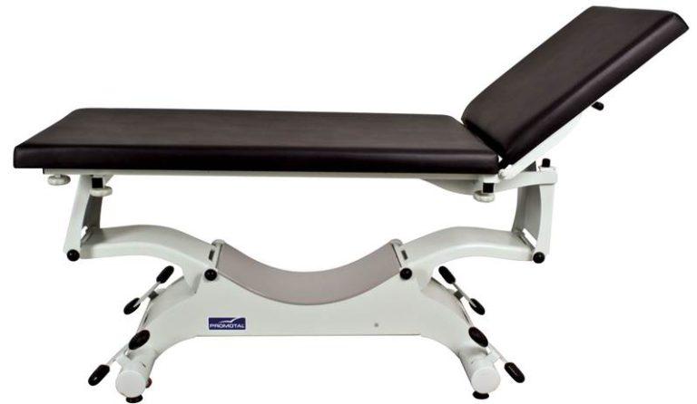 Quest onderzoekstafel - ligvlak 65 cm breedte - elektrisch hoog/laag (manuele bediening)