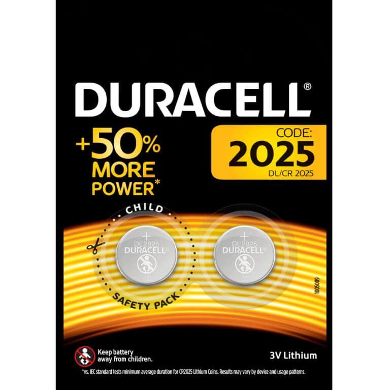 Duracell Knoopcel batterij CR2025