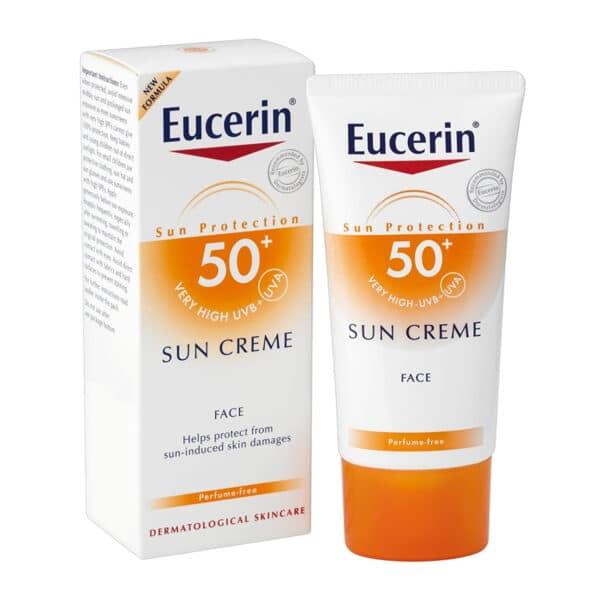 Eucerin Sun Creme Sensitive Protect SPF 50+