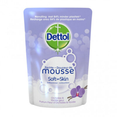 Dettol Zachte Mousse Soft on Skin Navulling 200ml