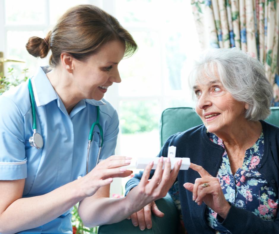 medisch materiaal voor verpleegkundigen en thuisverpleging